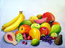 - artwork Fruits_Composition_II-1326384855.jpg - 2012, Painting Acrylic, Still Life