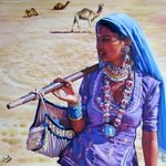 The Gypsy Woman Of Thar Desert, Santiago Carralero