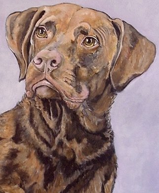 Acrylic Painting by Sandi Carter Brown titled: Seamus, 2007