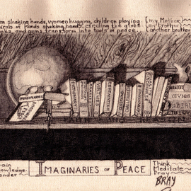 Sandra Bray Artwork The Imaginaries of Peace, 2006 Other Drawing, Peace