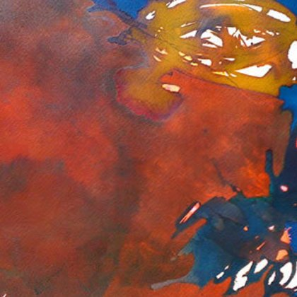 , My Heart Burns Like Fire , Abstract Landscape, $1,050