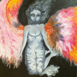 Angel of hope and love