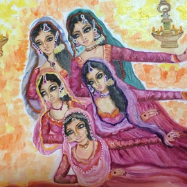 Dancing girls By Sangeetha Bansal