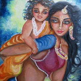playing with child By Sangeetha Bansal