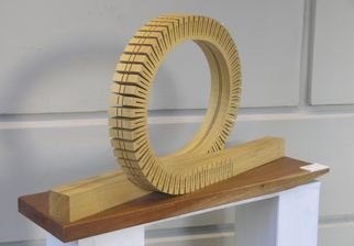 Wood Sculpture by Jardiel Valente titled: la inpensada   the unthinkble, 2009