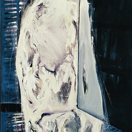 Sara Arianpour: 'Heiran', 2006 Acrylic Painting, Figurative. Artist Description:  figurative expressionism  ...