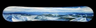 Painting by Sarah Katz Mount titled: From Baldy, created in 2008
