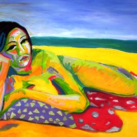 Sarangello Raquel: 'AN MARIE', 2010 Oil Painting, Nudes. Artist Description:   OIL ON CANVAS 500 DOLARSPAYPAL WESTER UNION TRANSFERENCIA BANCARIA ...