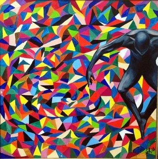 Artist: Sasha Robinson - Title: Spirit Superiority 1 - Medium: Oil Painting - Year: 2014