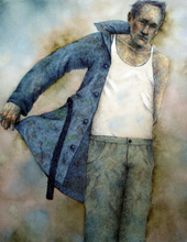 - artwork Coat-1372152903.jpg - 2013, Mixed Media, Figurative