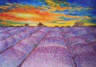 Artist: Dina Estera Cirt - Title: the field - Medium: Acrylic Painting - Year: 2015