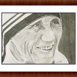 mother theresa By Shelton Barnes