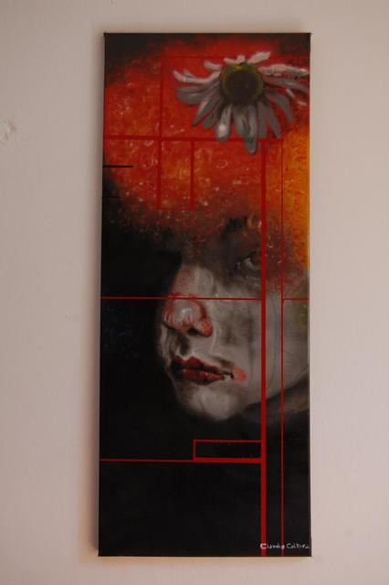 Claudio Coltura  'Sad Clown 2     ', created in 2011, Original Painting Other.