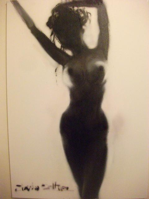 Claudio Coltura  'Bachlight Naked', created in 2012, Original Painting Other.