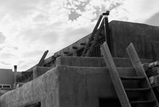 Susan Brannon Artwork Acoma Pueblo, 2012 Black and White Photograph, Landscape
