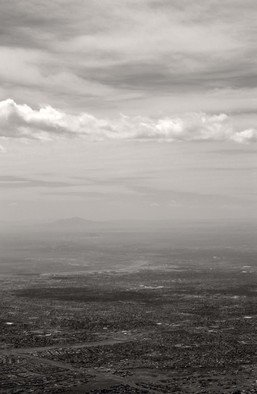 Susan Brannon Artwork Albuquerque City view, 2012 Black and White Photograph, Landscape