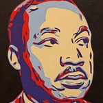 Dr Martin Luther King Jr By David Mihaly