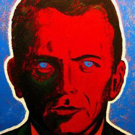 David Mihaly: 'Frank', 2003 Acrylic Painting, Famous People. Artist Description: Frank Sinatra...