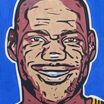 Lebron James By David Mihaly