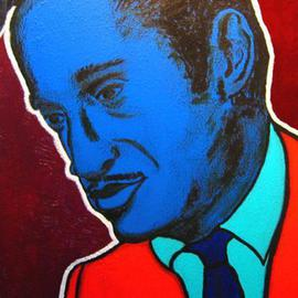 David Mihaly: 'Sammy', 2003 Acrylic Painting, Famous People. Artist Description: Sammy Davis, Jr. ...