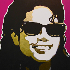 David Mihaly: 'The Way You Make Me Feel', 2009 Acrylic Painting, Music. Artist Description: Michael Jackson The Way You Make Me Feel ...