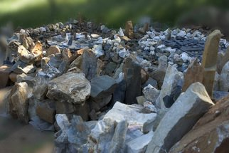 Sherman Hay: 'Rock Garden Sculpture', 2007 Stone Sculpture, Abstract. Artist Description: See artist about pricing  ...