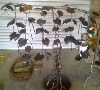 Phil Schubert: 'Grapevine', 2011 Steel Sculpture, Farm. Artist Description:  Hand made grapevine        ...