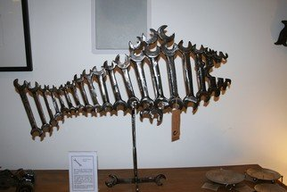 Phil Schubert: 'Spanner Fish', 2011 Steel Sculpture, Fish. Artist Description:  The Spanner Fish is made from old English spanners. ...