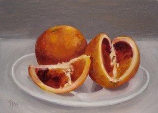 S. Josephine Weaver Artwork Blood Oranges, 2007 Oil Painting, Still Life
