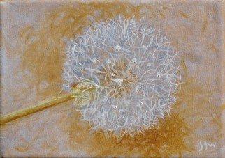 S. Josephine Weaver Artwork Dandelion, 2008 Oil Painting, Still Life
