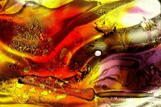 S. Josephine Weaver Artwork Field of Fire, 2011 Mixed Media, Abstract
