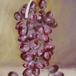Hanging Grapes By S. Josephine Weaver