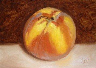 S. Josephine Weaver Artwork Pennsylvania Peach, 2008 Oil Painting, Still Life