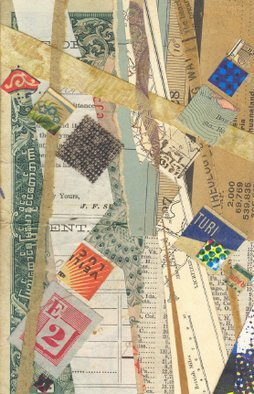 Collage by Robert H. Stockton titled: Drift, created in 2006