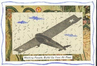 Robert H. Stockton: 'Instructions to Workers', 1999 Other Printmaking, Aviation. The artwork is a laser color copy of a mixed media piece, housed in a white, 8
