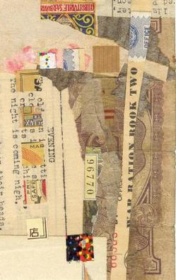 Collage by Robert H. Stockton titled: Promise, 2006