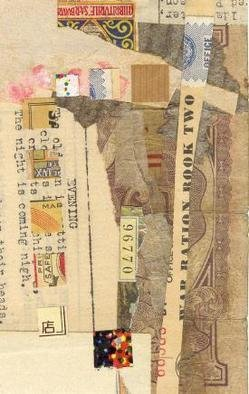 Robert H. Stockton Artwork Promise, 2006 Collage, Abstract