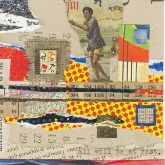 Collage by Robert H. Stockton titled: The Pursuit of Happiness, 2006