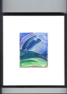 Artist: Robert H. Stockton - Title: and the sky knows my name - Medium: Watercolor - Year: 2002