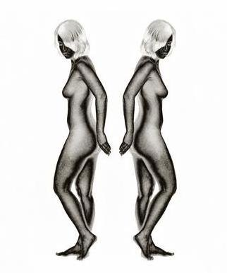 Stef Dorin Artwork Reflections, 2007 Black and White Photograph, Nudes