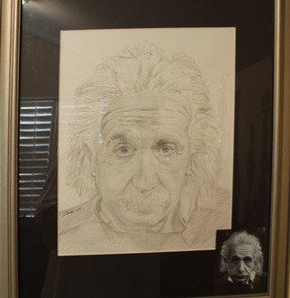 Pencil Drawing by Jaime Moreira titled: Albert, 2006