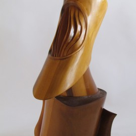 Michael Semsch Artwork Galileo, 2006 Wood Sculpture, Abstract