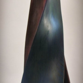 Michael Semsch Artwork Seeking Blind Approval, 2008 Wood Sculpture, Abstract