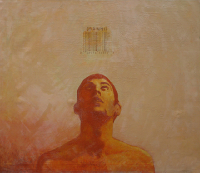 Artist Serge Rull. 'Gold' Artwork Image, Created in 2001, Original Painting Oil. #art #artist
