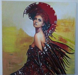 Artist: Sevtap Sanat - Title: Aura of an ardent lust - Medium: Oil Painting - Year: 2013