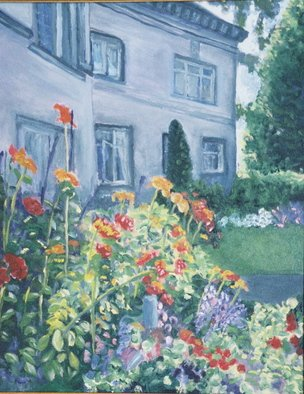 Artist: Francis Sharp - Title: portland estate - Medium: Oil Painting - Year: 2006