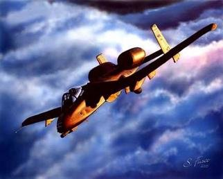 Stephen Fusco: 'Mission Accomplished', 2005 Computer Art, Aviation. Computer airbrush, created with Photoshop 6. ...