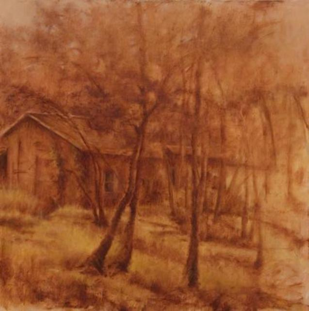 Shanee Uberman  'OLD FARM HOUSE Provence France', created in 2011, Original Painting Oil.