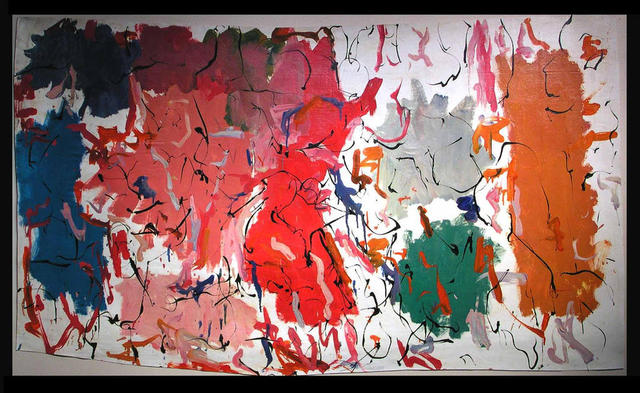 Richard Lazzara  'ABORIGINAL CULTURAL PARK', created in 1972, Original Pastel.