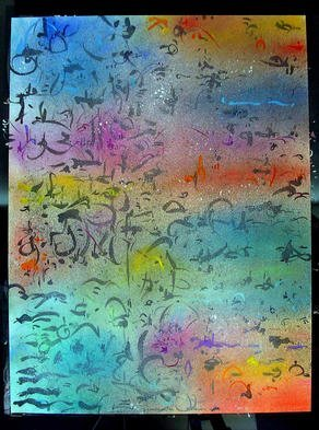 Richard Lazzara Artwork ALL TURNED OUT, 1985 Mixed Media, Inspirational